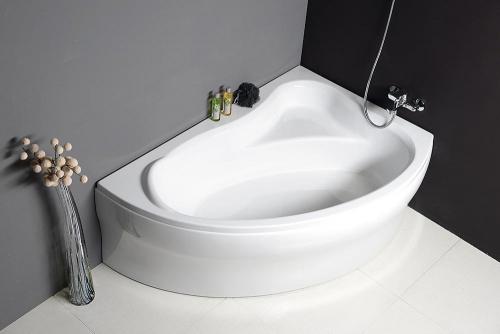 Aqualine ORAVA vana 150x90x38cm bez nožiček, pravá, bílá G1591