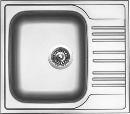 Nerezový dřez Sinks STAR 580 V 0,6mm matný STSSTM5805106V