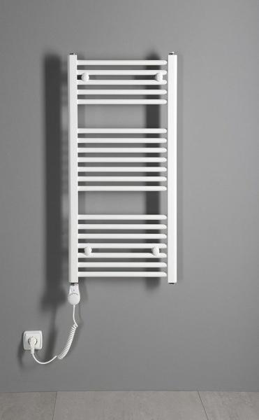 Aqualine Elektrická topná tyč s integrovaným termostatem 300W, bílá TS-300B