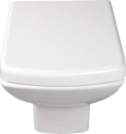 Aqualine SOLUZIONE závěsná WC mísa, 35x50, 5cm, bílá 10SZ02002