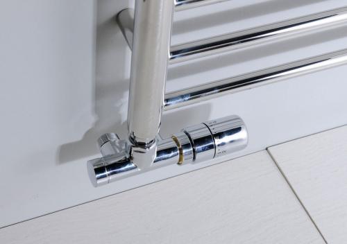 Sapho MONO ONE připojovací sada ventilů termostatická jednobodová, chrom CP2050