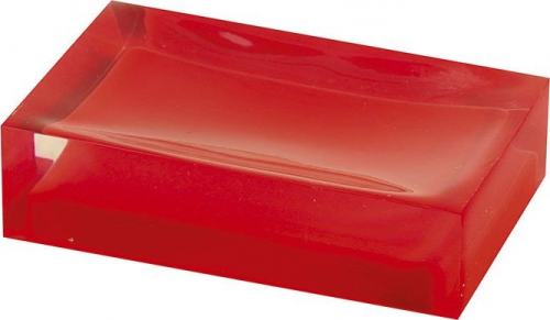 Gedy RAINBOW mýdlenka na postavení, červená RA1106