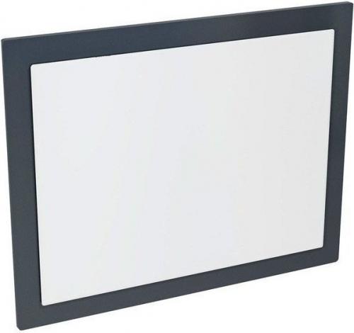 Sapho MITRA zrcadlo v rámu 720x520x40mm, antracit MT192