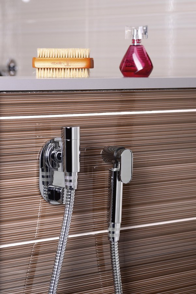 Sapho Podomítkový regulátor teploty vody pro bidetové sprchy, chrom 1209-03