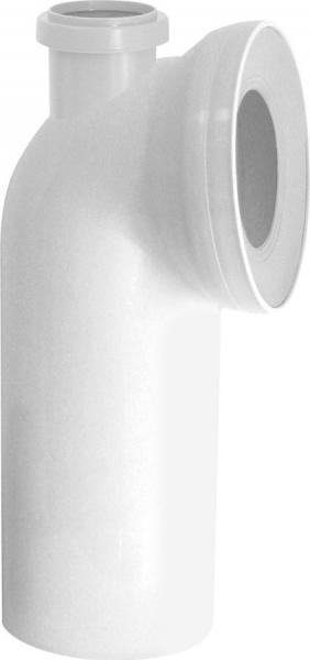 Sapho WC koleno 90° s přípojkou DN50 KK95000