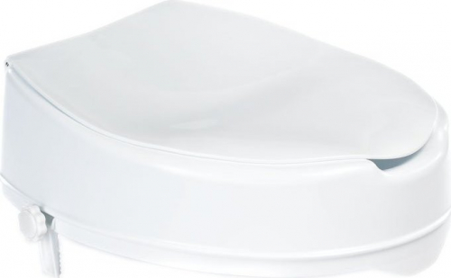 Ridder WC sedátko zvýšené 10cm, bez madel, bílá A0071001