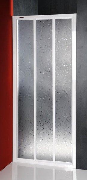 Aqualine DTR sprchové dveře posuvné 900mm, bílý profil, polystyren výplň DTR-C-90
