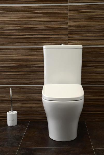 Sapho BELLO WC kombi mísa s nádržkou včetně Soft Close sedátka, spodní/zadní odpad PC103
