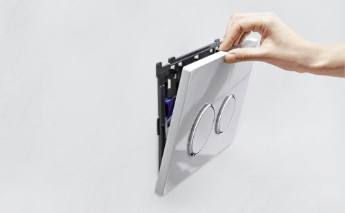 Geberit GEBERIT souprava s otvorem pro vhazování tablet, pro splach. nádržky Sigma 12 cm 115.610.00.1