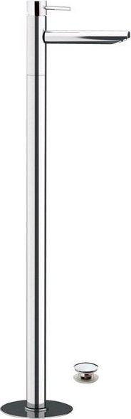 Sapho RHAPSODY umyvadlová baterie s připojením do podlahy, chrom 5516