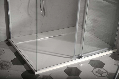Gelco IRENA sprchová vanička z litého mramoru, obdélník 160x100x3, 5cm HI160100