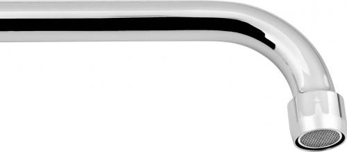 Aqualine Výtoková hubice tvar S, prům. 18mm, L 277mm, 3/4', chrom 15S250