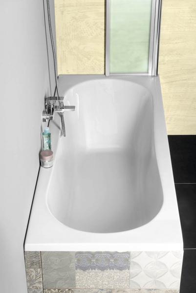 Aqualine JIZERA vana 120x70x39cm, bez nožiček, bílá G1270
