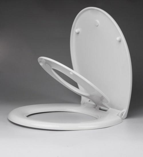 Aqualine WC sedátko s integrovaným dětským sedátkem, soft close. polypropylen FS125
