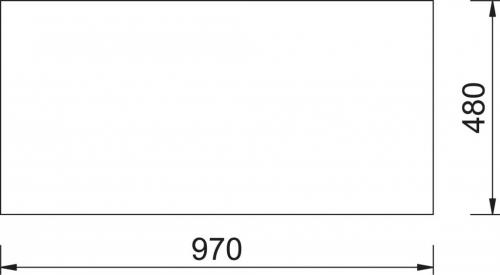 Granitový dřez Sinks AMANDA 990 Metalblack+MIX 3P GR TLA990MI3P74